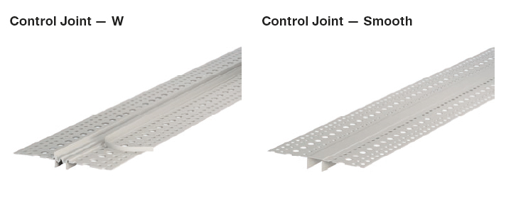 Plasterboard Control Joints
