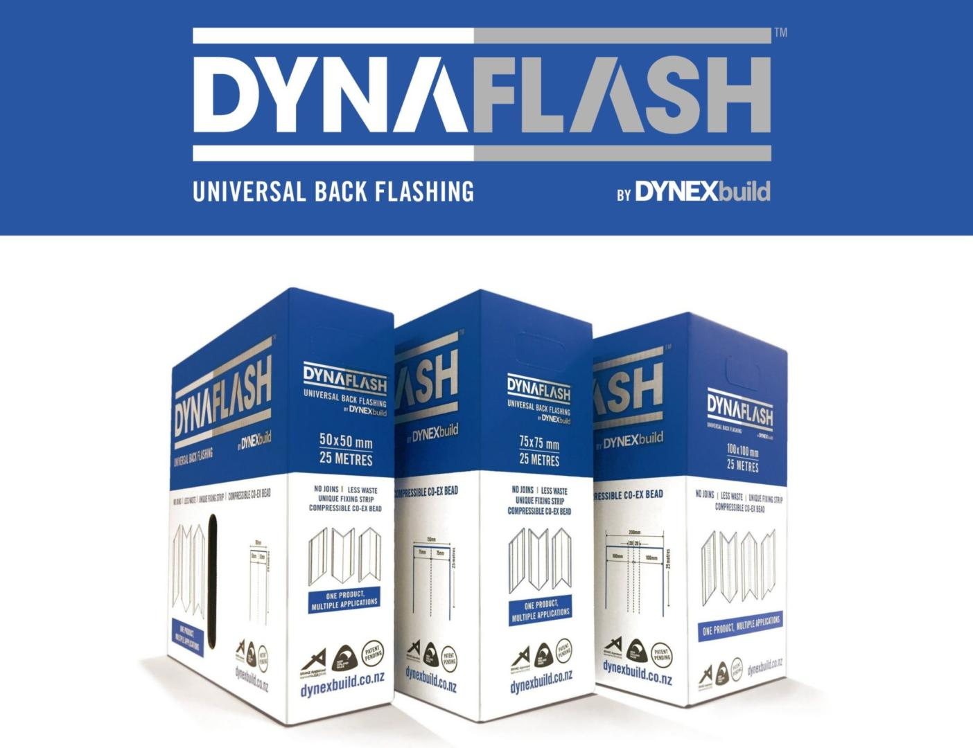 DynaFlash Universal Back Flashing – Now Available in 100x100mm