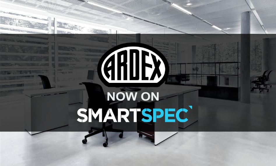 ARDEX New Zealand is now on Smartspec