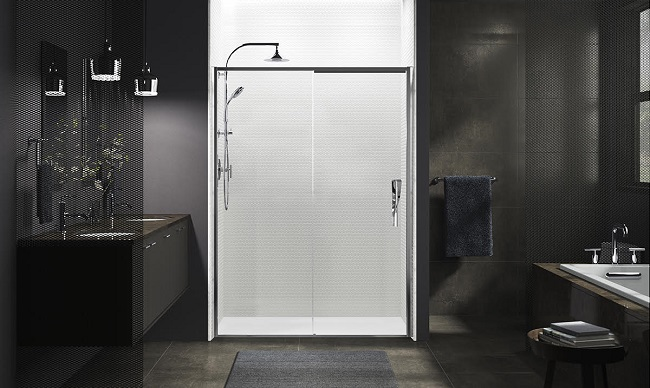 Introducing the award winning Torsion Showering Collection by Kohler