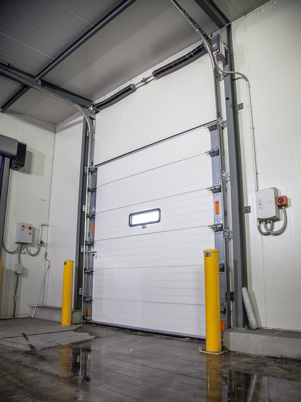 Ulti Group Industrial Sectional Doors are the perfect solution for your dock doorway