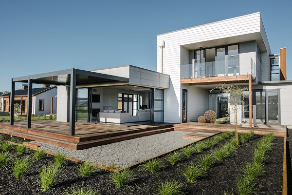Innovative St. Kilda Wetlands showhome features James Hardie Products