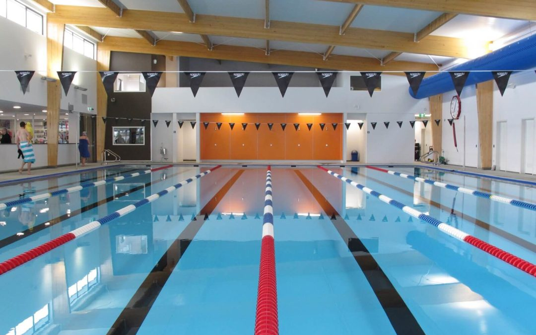 Ever wondered what's behind the paint at Aquatic Centres?