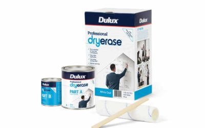 Open up a world of collaborative opportunities with new Dulux® Professional® DryErase™.