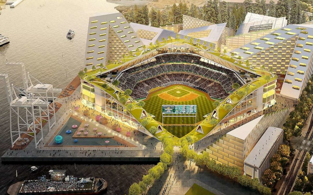 A's Propose a 'Jewel Box' Ballpark for the Oakland Waterfront